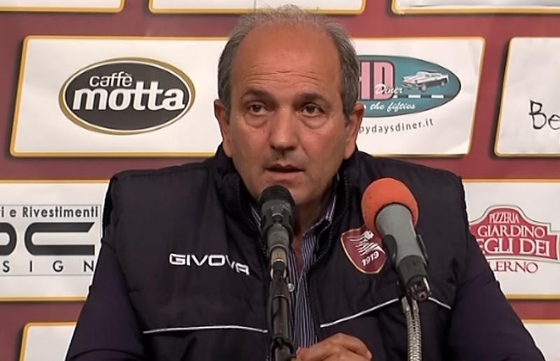 Angelo Fabiani ds Salernitana
