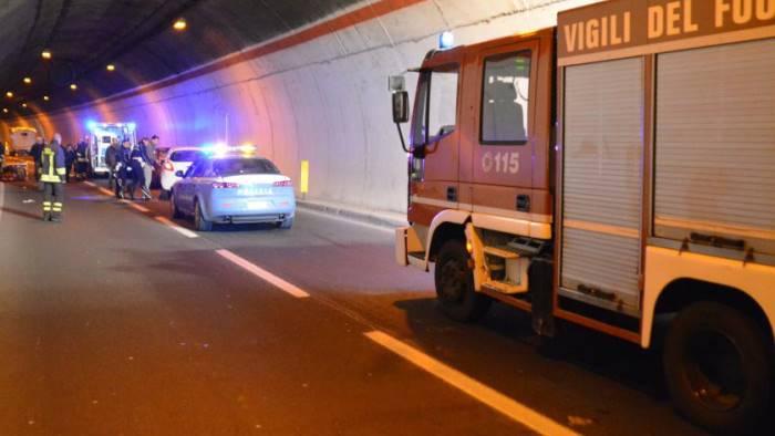 Incidente Galleria Autostrada