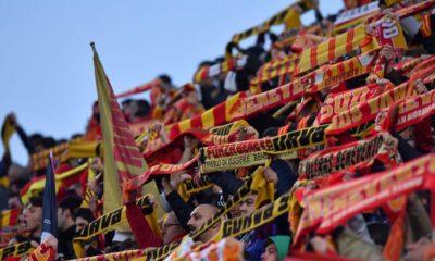 Sciarpata dei tifosi del Benevento