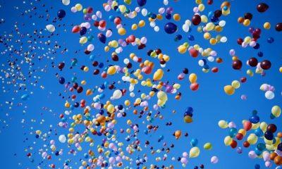 palloncini in volo