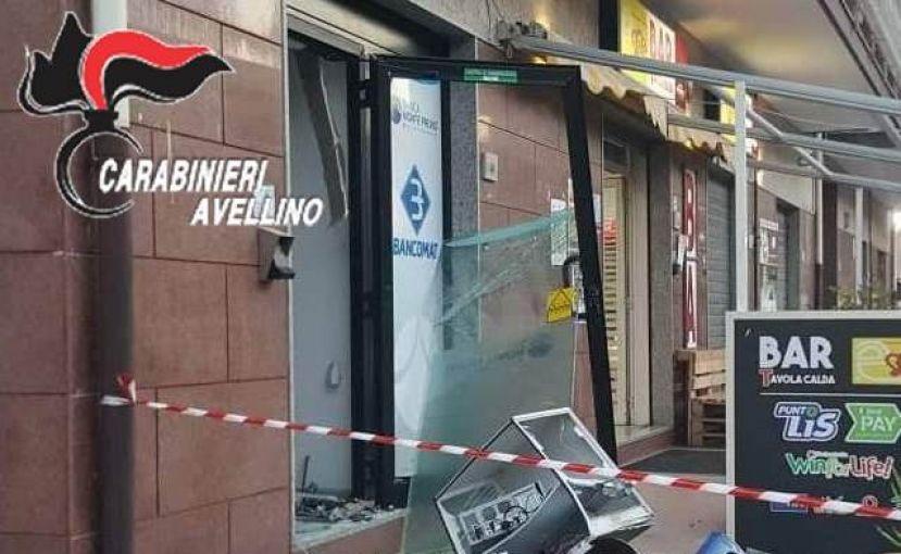 Esplosione Bancomat Montoro