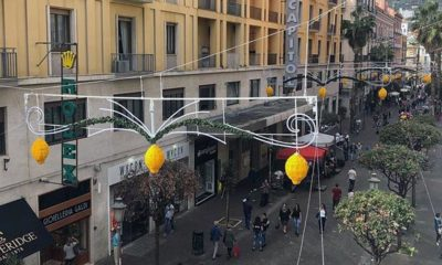 Corso Salerno luci