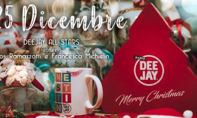 Cover canzone di Natale Radio Deejay