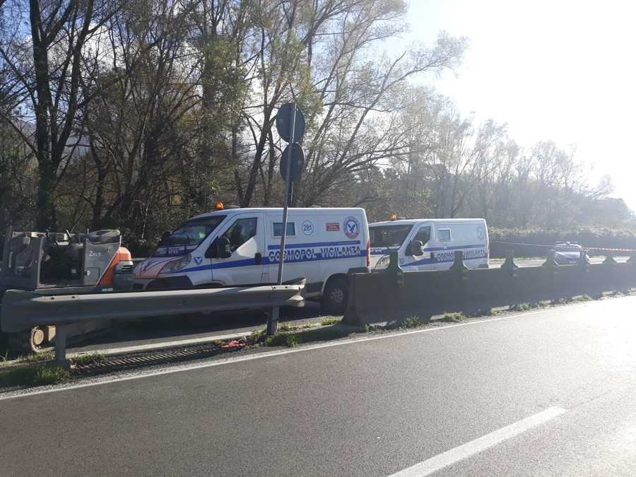 Raccordo Salerno-Avellino rapina portavalori