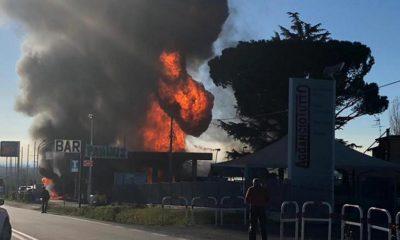 Esplosione via Salaria Rieti