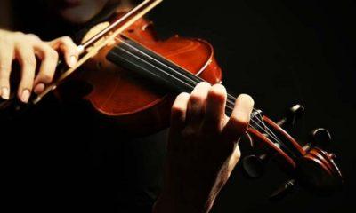 Violino suonato