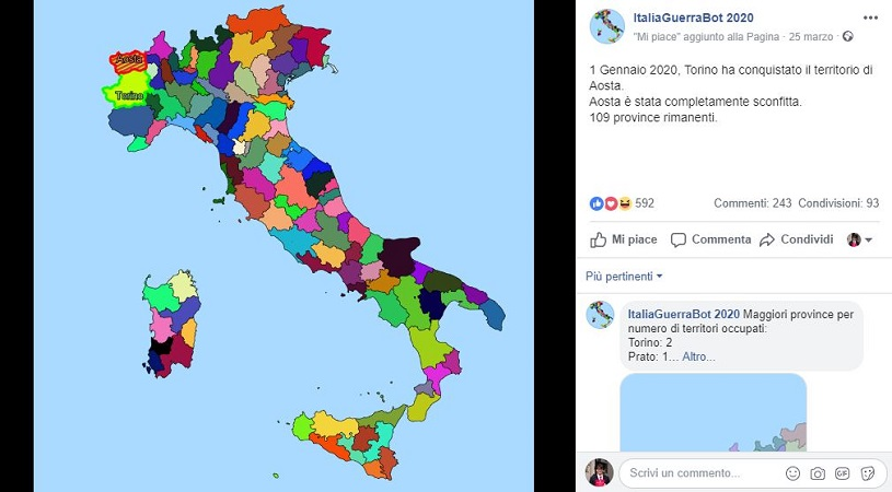 Italia Guerra Bot 2020
