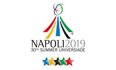 Logo Universiadi 2019 Napoli