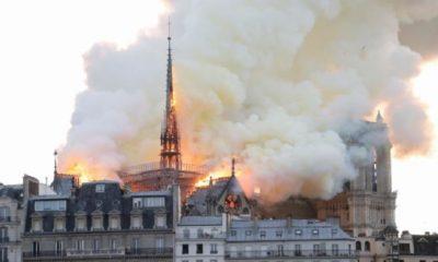 Notre Dame Parigi Incendio