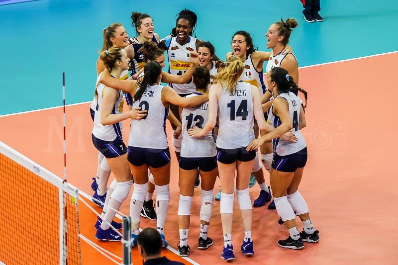 Italia Brasile Volley Universiadi 2019