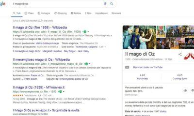 Il mago di Oz Google
