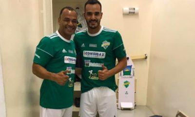 Cafu e il figlio Danilo