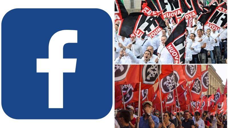 Facebook Forza Nuova Casapound