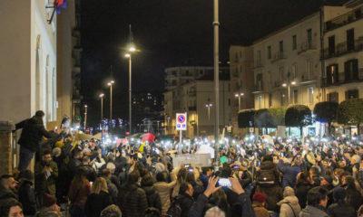 Manifestazione Sardine Avellino