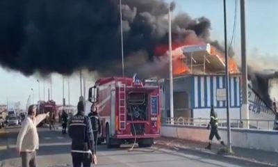 Salerno Incendio La Vela