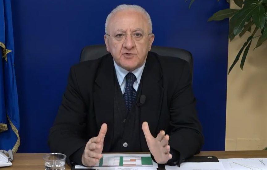 Vincenzo De Luca Governatore Campania
