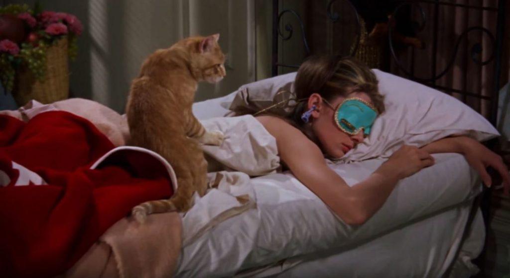 Gatto e Holly Colazione da Tiffany