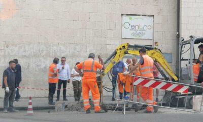 Benevento Guasto condotta idrica