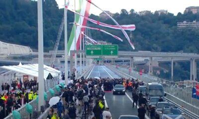 Inaugurazione Ponte San Giorgio Genova