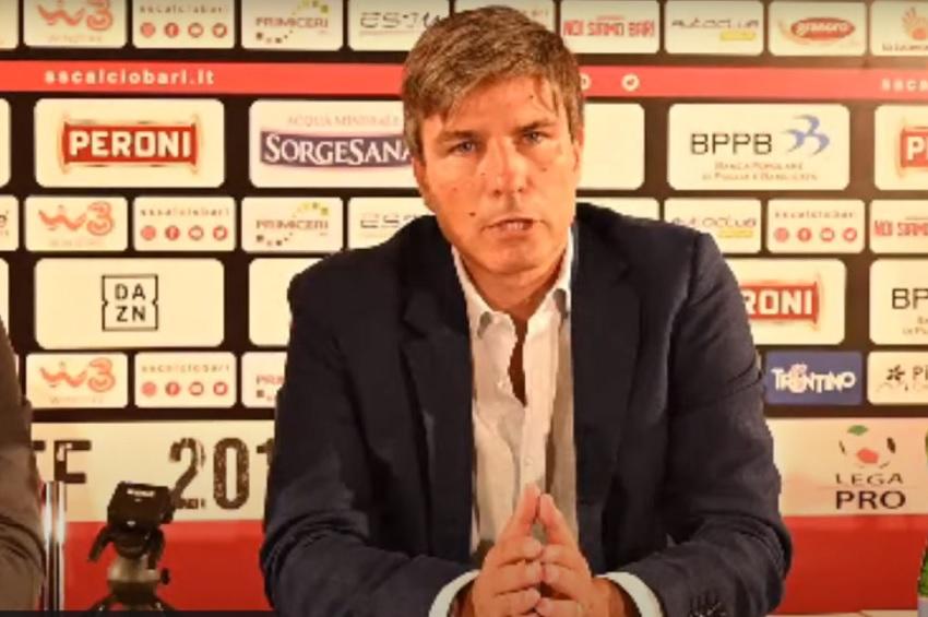 Giancarlo Romairone ds Bari