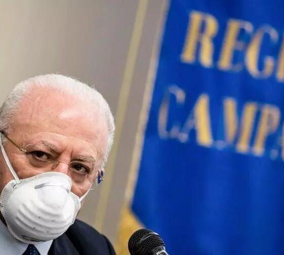 De Luca presidente Regione Campania