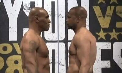 Mike Tyson e Roy Jones Jr.