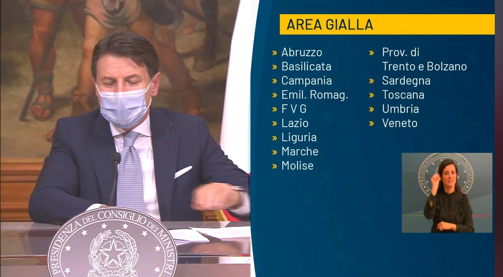 Conte Area Gialla