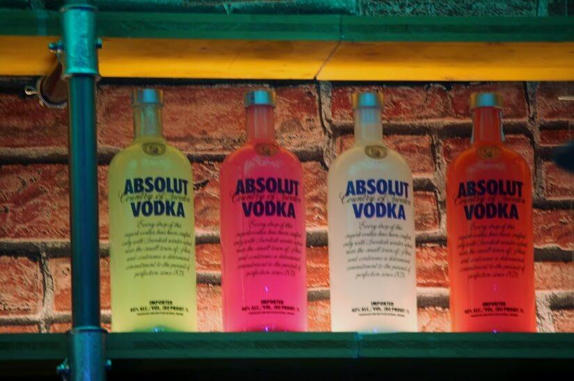 Alcolici in bottiglia
