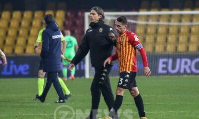 Filippo Inzaghi Benevento Serie A