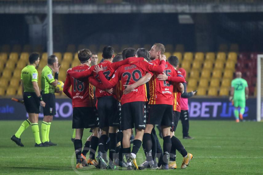 Abbraccio Benevento Serie A