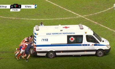 Braga Porto Ambulanza