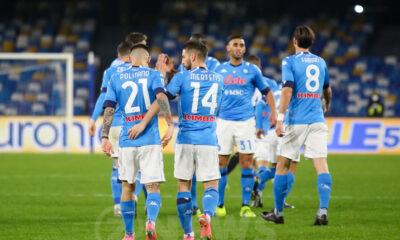 Esultanza Napoli Calcio