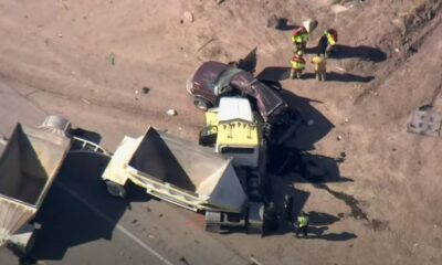 Incidente California Suv Camion