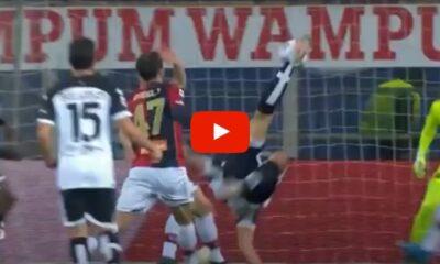 Pelle Gol Parma Genoa