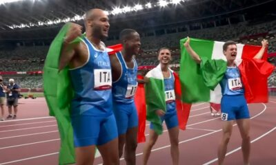 Staffetta 4x100 Italia Tokyo